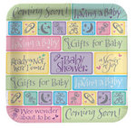 9 Coming Soon Baby Shower Plates - Pkg 8
